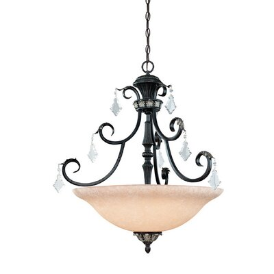 Florence 4-Light Inverted Pendant