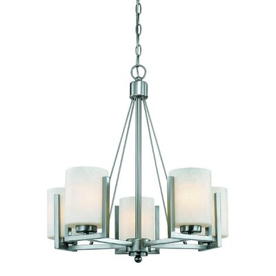 Uptown 5-Light Shaded Chandelier
