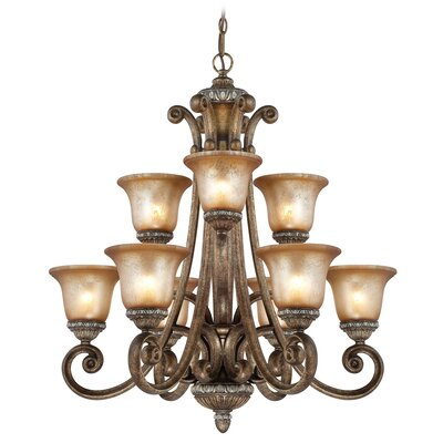 Carlyle 9-Light Candle-Style Chandelier