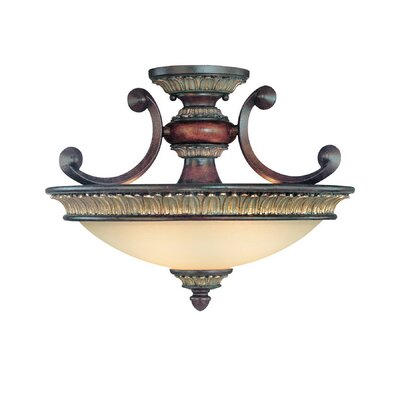 Bonita 2-Light Semi Flush Mount