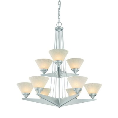 Avanti 9 Light Chandelier
