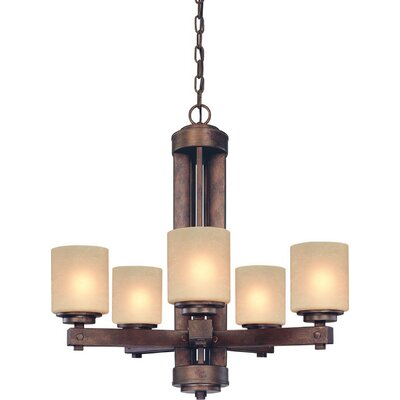 Sherwood 5-Light Shaded Chandelier