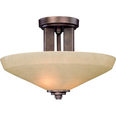 Sherwood 2-Light Semi Flush Mount