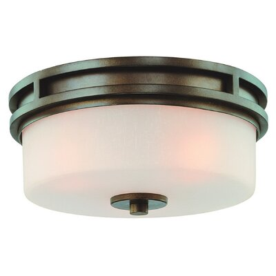 Multnomah 3-Light Flush Mount