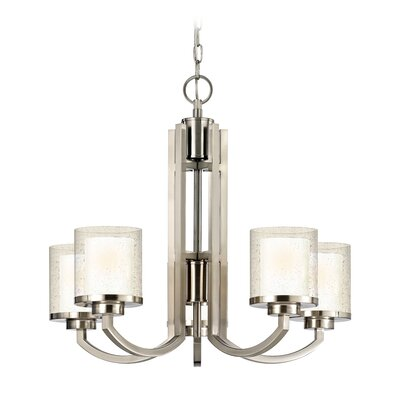 Kellum Contemporary 5-Light Candle-Style Chandelier