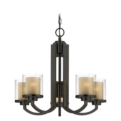 Horizon 5-Light Candle-Style Chandelier