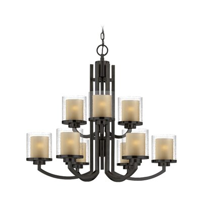 Horizon 9-Light Candle-Style Chandelier