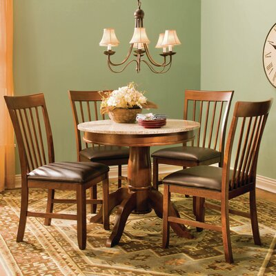 Granite 5 Piece Dining Set