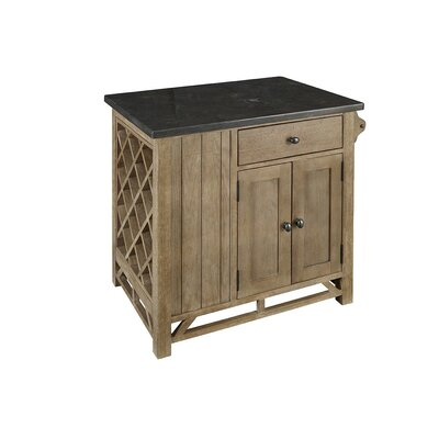 Araminta Kitchen Island with Bluestone Top
