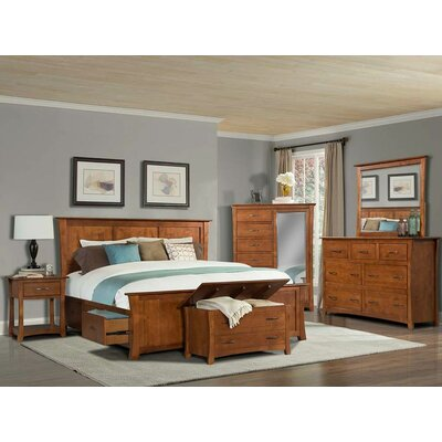Barten Storage Panel Configurable Bedroom Set