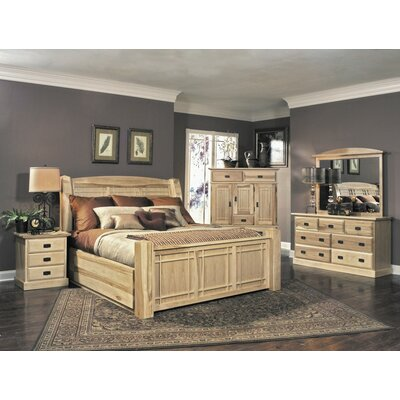 Arvilla Panel Configurable Bedroom Set