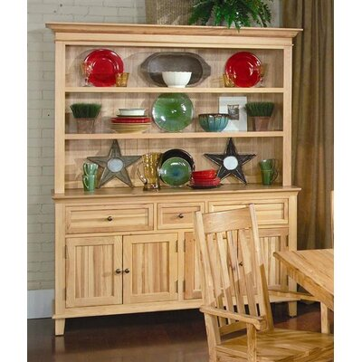 Cheap A-America Country Hickory Open Hutch (AAM1223)