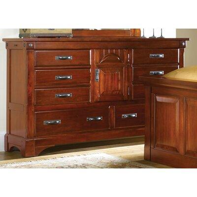 Barter 8 Drawer Combo Dresser