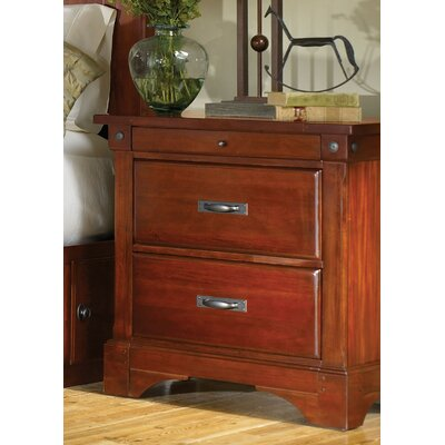 Barter 2 Drawer Nightstand