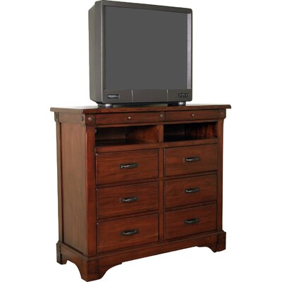 Barter 6 Drawer Media Chest