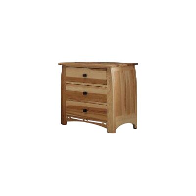 Asdsit 3 Drawer Nightstand