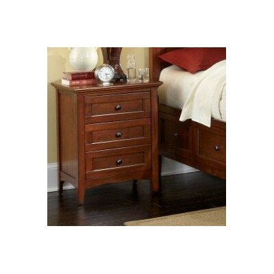 Barstow 3 Drawer Nightstand