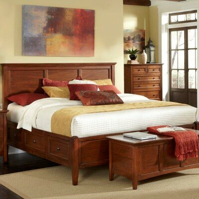 Barstow Storage Panel Bed Size: King