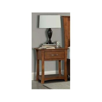 Barten 1 Drawer Nightstand
