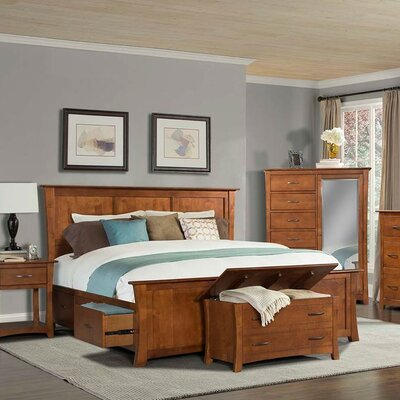 Barten Storage Platform Bed Size: King
