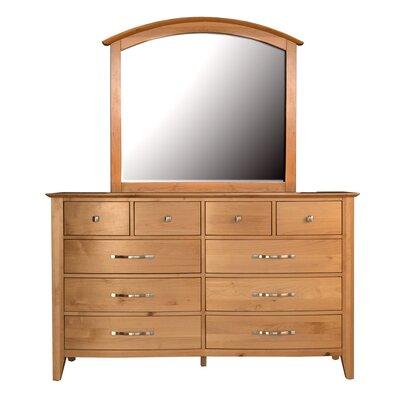 Morse 10 Drawer Dresser with Mirror