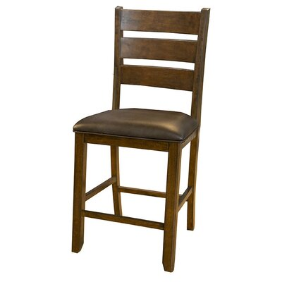 Osborne Slatback Upholstered Bar Stool