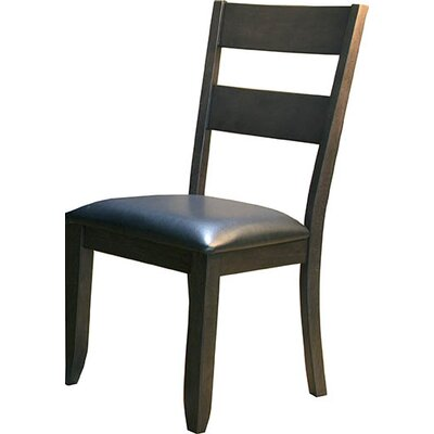 Alder Ladderback Upholstered Side Chair