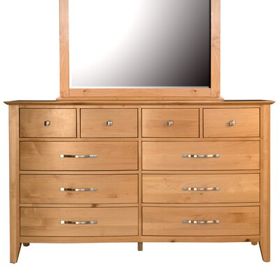 Morse 10 Drawer Double Dresser