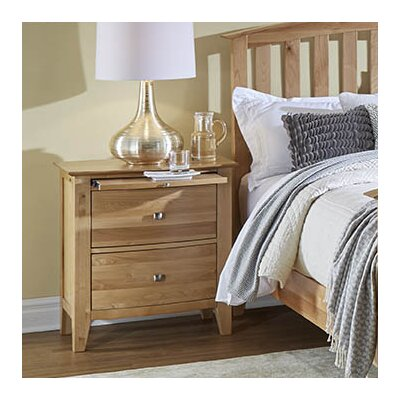 Morse 2 Drawer Nightstand