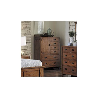 Castro 6 Drawer Gentlemans Chest