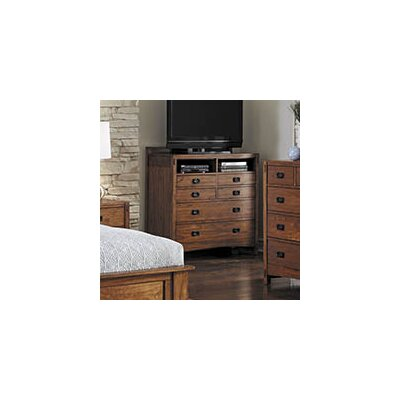 Castro 6 Drawer Media Chest