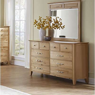 Morse 10 Drawer Dresser with Mirror