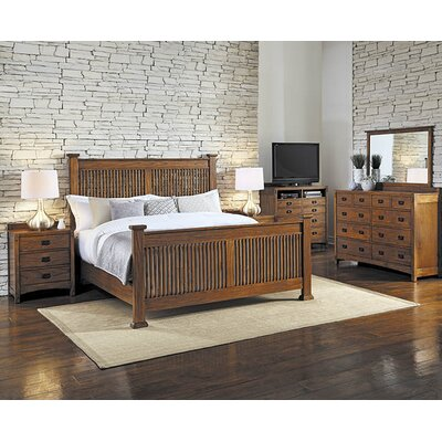 Castro Slat Panel Customizable Bedroom Set