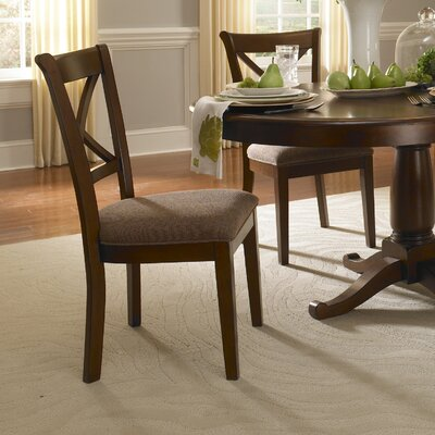 Easy financing Desoto X-Back Side Chair (Set of 2)...