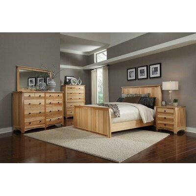 Asdsit Panel Configurable Bedroom Set