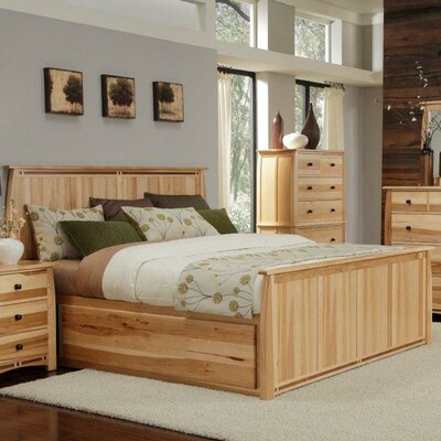 Adamstown Panel Bed Size: King