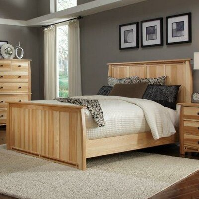 Asdsit Panel Bed Size: King