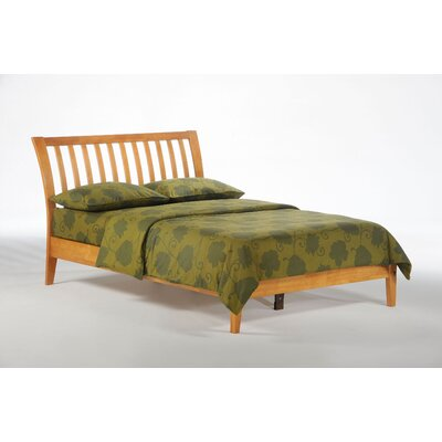 Spices Bedroom Slat Headboard Size: Full, Color: Medium Oak