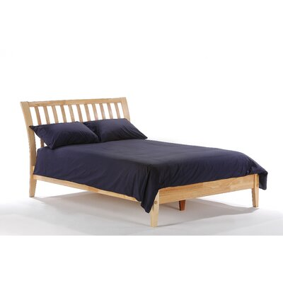 Spices Bedroom Slat Headboard Size: Queen, Finish: Natural