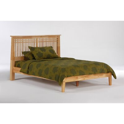 Spices Bedroom Slat Headboard Size: Twin, Color: Natural