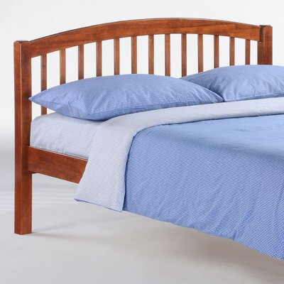 Zest Slat Bed Size: Full, Finish: Cherry