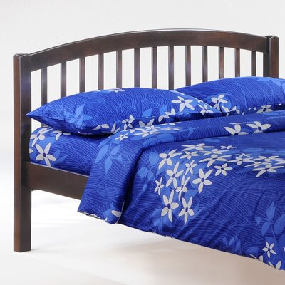 Zest Slat Bed Size: Twin, Finish: Chocolate