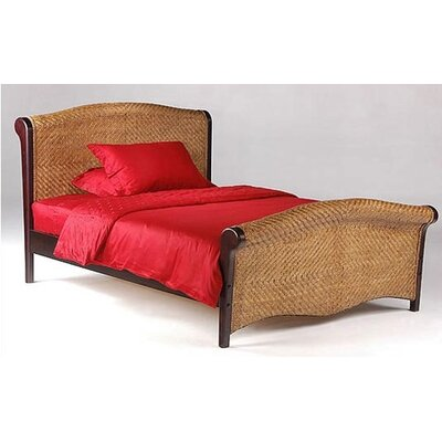 Easy financing Spices Rosebud Sleigh Bed...