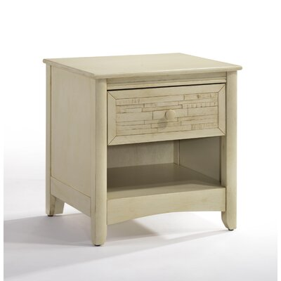 Secrets Cape Cod 1 Drawer Nightstand Color: Buttercream