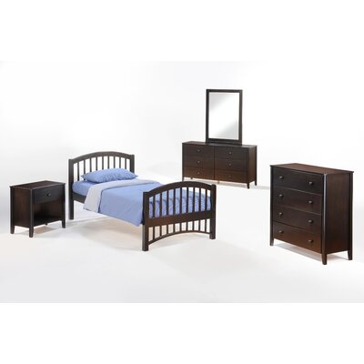 Zest Full Panel Customizable Bedroom Set