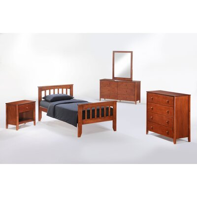 Zest Panel Customizable Bedroom Set
