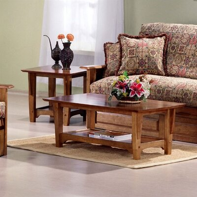 Premium Coffee Table Finish: Medium Oak