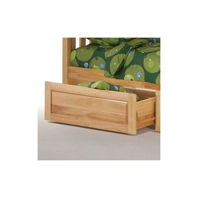 Spices Bedroom Cinnamon Bunk Bed Storage Drawers Finish: Natural