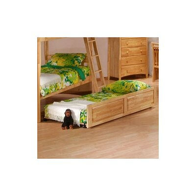 Spices Bedroom Twin/Twin Trundle Unit Finish: Natural