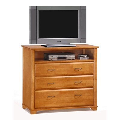 Spices Juniper 3 Drawer Chest Color: Medium Oak